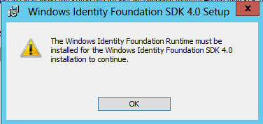 WIF SDK Installation