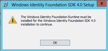 WIF SDK Installation